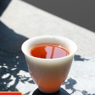 Drink to xuan wen trumpet jingdezhen ceramic fair mug kung fu tea tea set points, antique and a cup of tea tea sea