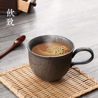 Drink to jingdezhen blue and white tureen retro hand-painted kung fu three cups to make tea, large ceramic tea set bowl