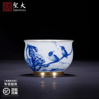 St large ceramic three tureen pastel cups water lines without Joe tureen tea bowl full manual of jingdezhen tea service