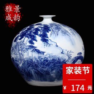 Jingdezhen ceramics porcelain stool teahouse tea house furnishing articles household adornment tea drum stool ornaments