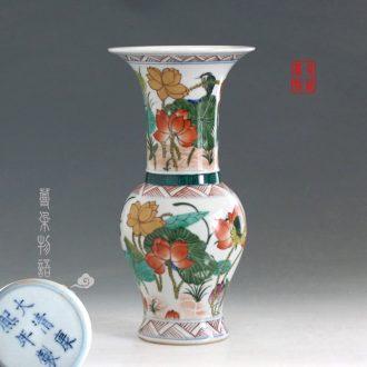 Jingdezhen blush duke guan sculpture three-dimensional stereoscopic China big blush guan yu guan gong