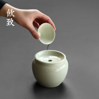 Drink to Coarse TaoHua apparatus zen Japanese flower dried flowers floral size ceramic vases, home furnishing articles