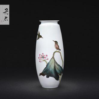 Hand-painted ji jingdezhen blue paint pot home teapot kung fu tea set manual ceramic tea set teapot