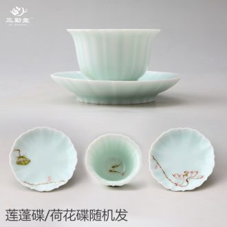 Only three frequently hall and graceful tureen jingdezhen ceramic tea bubble kunfu tea cups with filtering S11032 packages