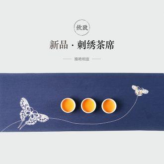 Drink to dehua white porcelain tea set jade porcelain paint ceramic contracted kung fu tea set a complete set of gift box