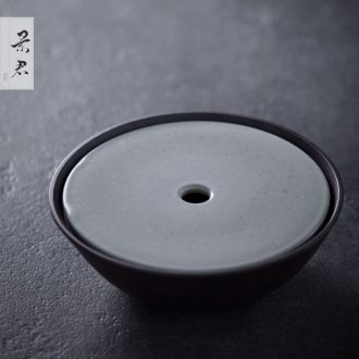 JingJun zen handmade coarse pottery kunfu tea and a cup of jingdezhen and fair mug cup of black tea Japanese tea
