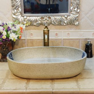JingYuXuan jingdezhen ceramic art basin stage basin sinks the sink basin basin oval further