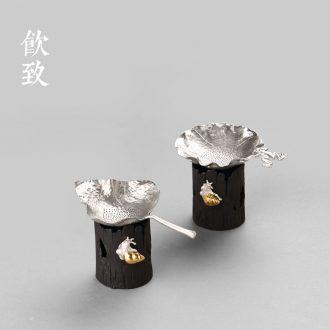 Water flow glaze flower implement receptacle jingdezhen hand-painted ceramic floret bottle coarse TaoXiaoHua vase tea ceremony with zero