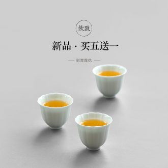 Drink tea the coarse after deterioration, large master cup single cup ceramic cups sample tea cup kung fu tea set of tea cups
