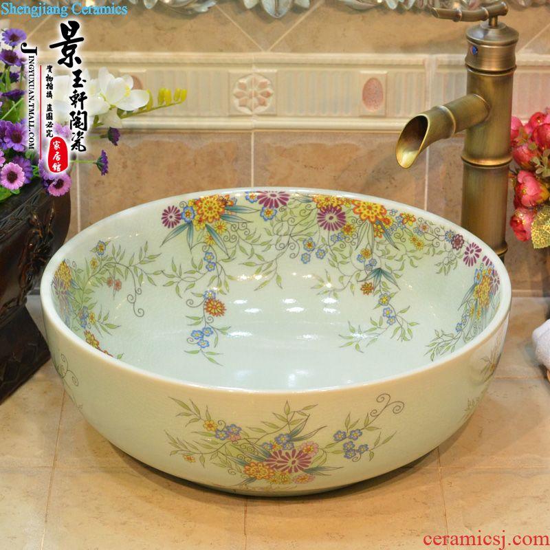 Jingdezhen JingYuXuan blue and white dream hibiscus flower