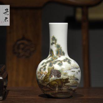 Sweet jingdezhen pure manual craft tureen them kung fu tea bowl thin body three cups tureen large