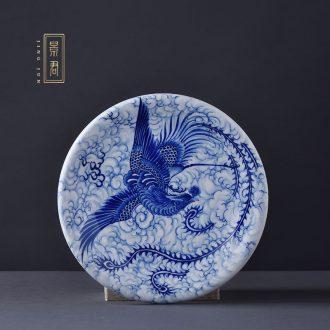 JingJun Jingdezhen ceramics hand-painted pastel lad all hand teapot kung fu tea set tea service