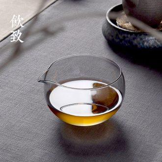 Drink tea tea accessories coarse pottery, ceramic teaspoon to 6 gentleman gold tea holder Japanese tea kungfu tea furnishing articles