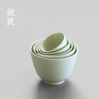 Drink to the secret washing ceramic glaze on water with Japanese small tea tea-leaf dou tea wash bath kung fu tea accessories