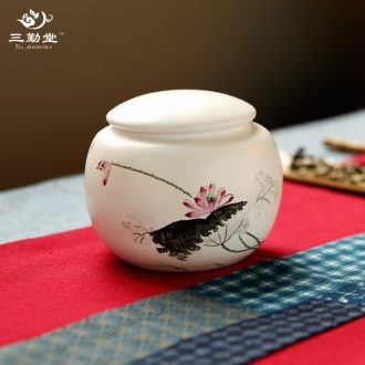 Three frequently hall jingdezhen ceramic sample tea cup kung fu tea cups kiln small single cup master cup S44070