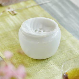 Jingdezhen ceramic all hand hand green colored enamel paint lotus flower grain bubble kung fu tea tea set