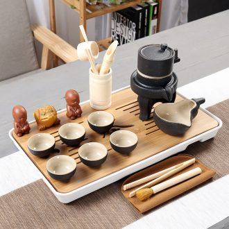 Is Yang coarse pottery ceramic POTS awake piggy bank seal tea caddy puer tea cans packaging