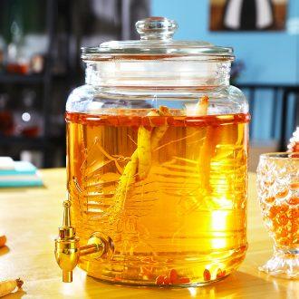 Jingdezhen ceramic sealed bottles of liquor altar it 5 jins of household to restore ancient ways it bubble wine jars