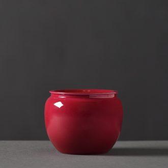 JingJun Jingdezhen ceramics Hand painted colored enamel painting of flowers and all hand teapot Kung fu tea set