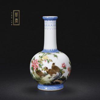 JingJun jingdezhen ceramics hand-painted kung fu tea tea tea pot of single pot of ink in the 1