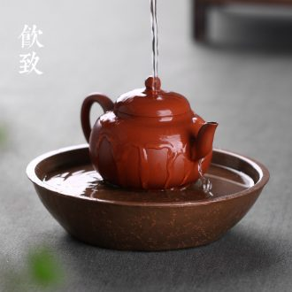 Drink to the old rock, all hand hammer home the teapot coarse pottery teapot large ceramic kung fu tea pot