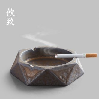Drink to Jingdezhen ceramic fair mug size and a cup of tea ware fambe points glaze sea Japanese tea and a cup of tea