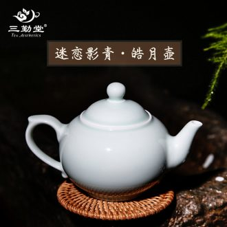 The three frequently kiln glaze masters cup Jingdezhen ceramic kung fu tea cup personal puer tea cup sample tea cup