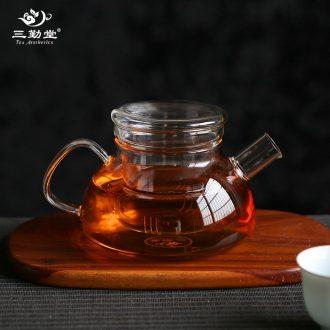 The three attendance hall jingdezhen ceramic sample tea cup master cup bowl kung fu tea cups color glaze pu-erh tea cup
