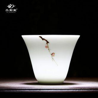 Three frequently hall make tea tea filter ceramic) screen pack kung fu tea tea parts of jingdezhen shadow celadon