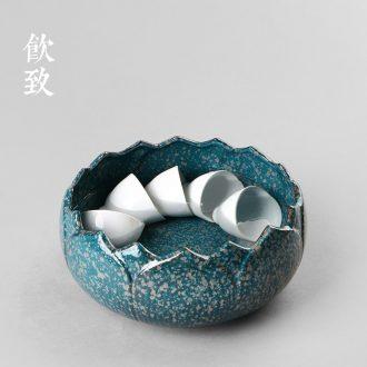 Drink to sweet little teapot white porcelain filtering teapot jade porcelain craft kung fu tea set household ceramics xi shi pot