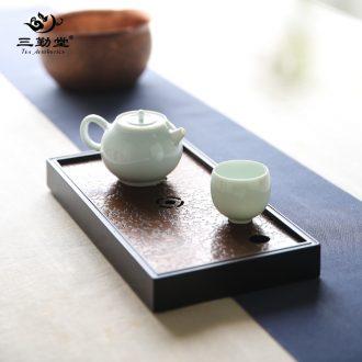 Three frequently hall jingdezhen blue and white porcelain tea set ceramic kung fu tea tureen tea tea S13004