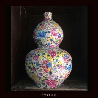Archaize do old blue-and-white porcelain vases, flower vase with antique do old porcelain decoration in Ming dynasty, yuan dynasty vase