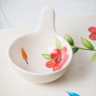 Ijarl million jia Japanese ceramics dipping sauce flavor small plate disc vinegar sauce dish dish snack dish, milan