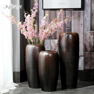 Jingdezhen ceramic vase landing restoring ancient ways is the sitting room hotel club dry flower arranging TV ark home furnishing articles POTS