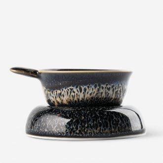 TaoXiChuan) tea filter creative personality temmoku kiln jingdezhen ceramics glaze tea strainer sky tea accessories