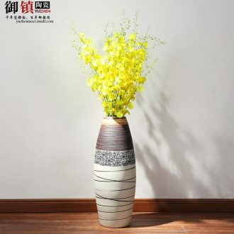 Jingdezhen household act the role ofing is tasted furnishing articles sitting room creative handicraft art big vase decoration decoration wine cabinet TV ark