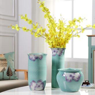 Jingdezhen ceramics vases, flower arranging is sitting room place TV ark home decoration wine shops