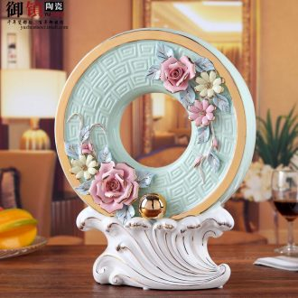Jingdezhen ceramic office furnishing articles home decoration stores choi, porch is the study and sitting room decoration