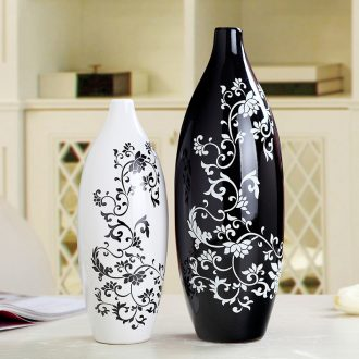 Jingdezhen household vase decoration furnishing articles creative arts TV ark bedroom, the sitting room porch ark decoration