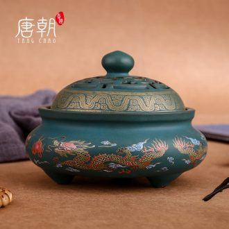 Tang dynasty ceramics cloisonne censers creative small night light aroma stove household bedroom teahouse teachers
