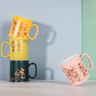 Designer duds & middot; High temperature inferior smooth color glazed ceramic mugs