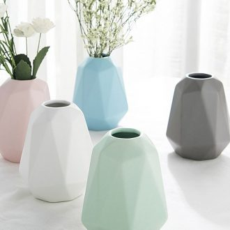 Ijarl Nordic creative flower floret bottle ceramic sitting room place ins small and pure and fresh wind household household flower pot