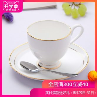 Jingdezhen european-style bone China afternoon tea set creative household soft outfit phnom penh ceramic cup coffee cups and saucers send the spoon