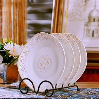 Ceramic dish dish dish suit square plates creative household contracted combination plate Japanese dishes big dinner plate