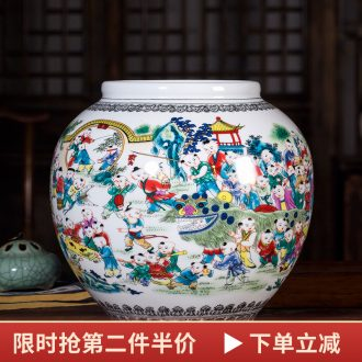 Jingdezhen ceramics vases, flower arranging furnishing articles figure home sitting room adornment process antique Chinese style is classic the ancient philosophers