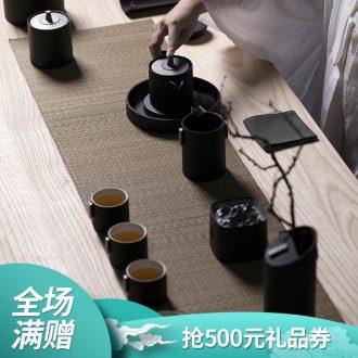 Thousand ceramic tea set # 6 people kung fu tea tea sets four art life gift box combination seat boring