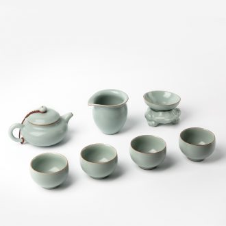 TaoXiChuan jingdezhen your kiln kung fu tea set on ceramic can be used to support a family contracted four small office