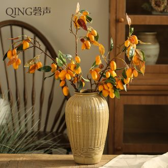 Desktop vase handmade flower implement restoring ancient ways of jingdezhen ceramic POTS dry flower arranging flowers restaurant furnishing articles of Chinese style style