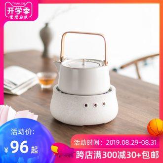 Mr Hours of nanshan light kettle TaoLu boiled tea machine household ceramic tea sets tea cooking pot