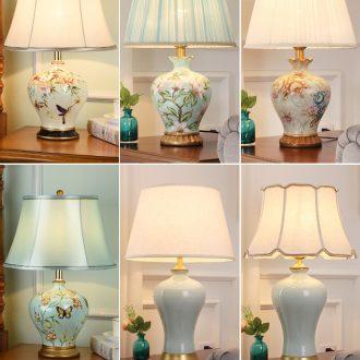Robbie Australia lamp bedroom nightstand lamp creative artical simple room warm romantic warm light ceramic lamp